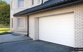 Секційні гаражні ворота UniPro для дому wisniowski-7