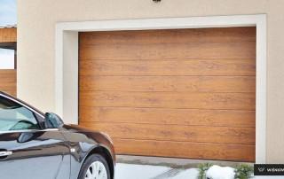 Секційні гаражні ворота UniPro для дому wisniowski-8