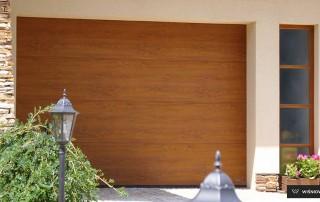 Секційні гаражні ворота UniPro для дому wisniowski-9
