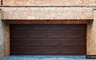 Секційні гаражні ворота UniPro для дому wisniowski-10