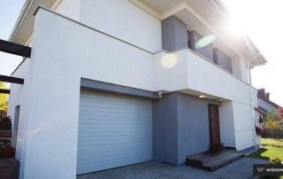 Секційні гаражні ворота UniPro для дому wisniowski-14