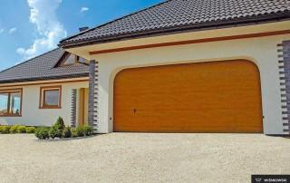 Секційні гаражні ворота UniPro для дому wisniowski-18