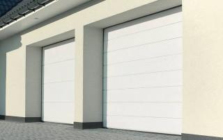 Секційні гаражні ворота UniPro для дому wisniowski-19