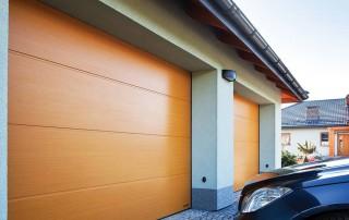 Секційні гаражні ворота UniPro для дому wisniowski-20
