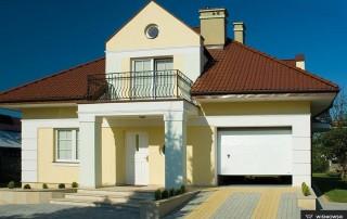 Секційні гаражні ворота UniPro для дому wisniowski-22