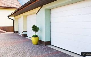 Секційні гаражні ворота UniPro для дому wisniowski-23