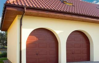Секційні гаражні ворота UniPro для дому wisniowski-29