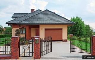 Секційні гаражні ворота UniPro для дому wisniowski-32
