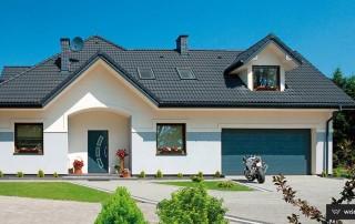 Секційні гаражні ворота UniPro для дому wisniowski-35