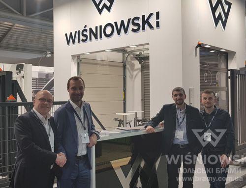 WIŚNIOWSKI Ukraine на виставці BAU 2019 у Мюнхені