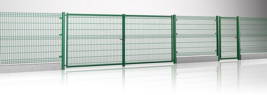 Секційна огорожа з воротами та хвірткою MODEST