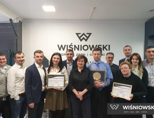 WIŚNIOWSKI Ukraine. Компанія року 2018