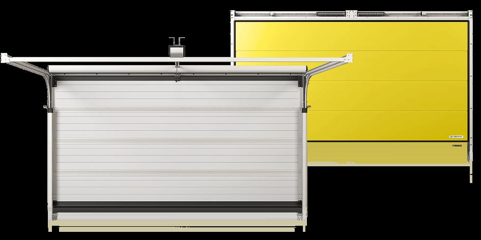 Теплоізоляційні секційні гаражні ворота