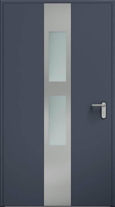 Двері ECO BASIC, аплікація, скління | Антрацит