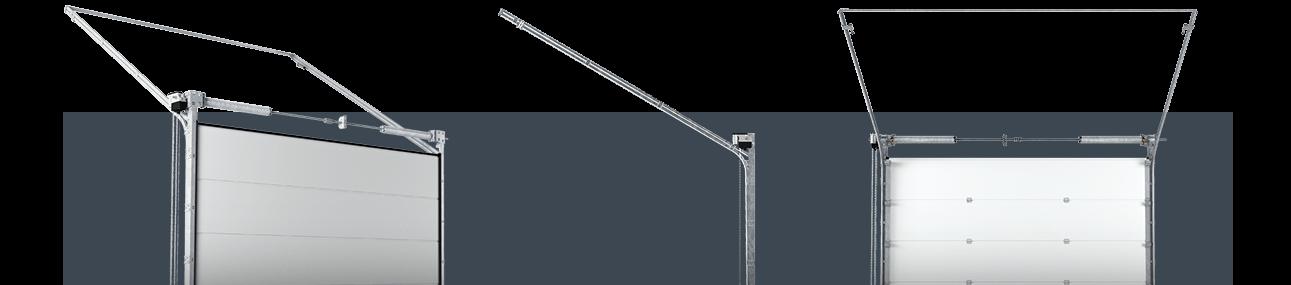 Секційні промислові ворота