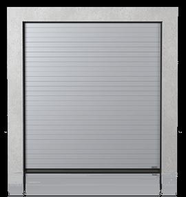 Промислові секційні ворота із панелей з низьким рельєфом (N)
