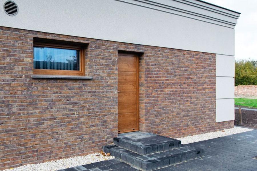 Безпечні бокові алюмінієві двері