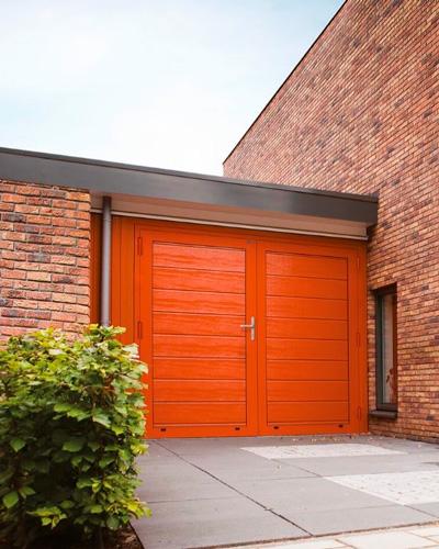Універсальні двері для гаража