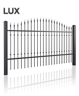 Ціна металевих парканів lux
