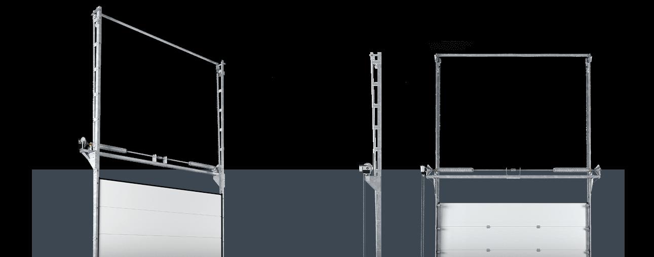 VLO вертикальний напрямний механізм з пониженим валом