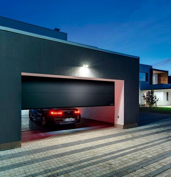 Купити секційні гаражні ворота