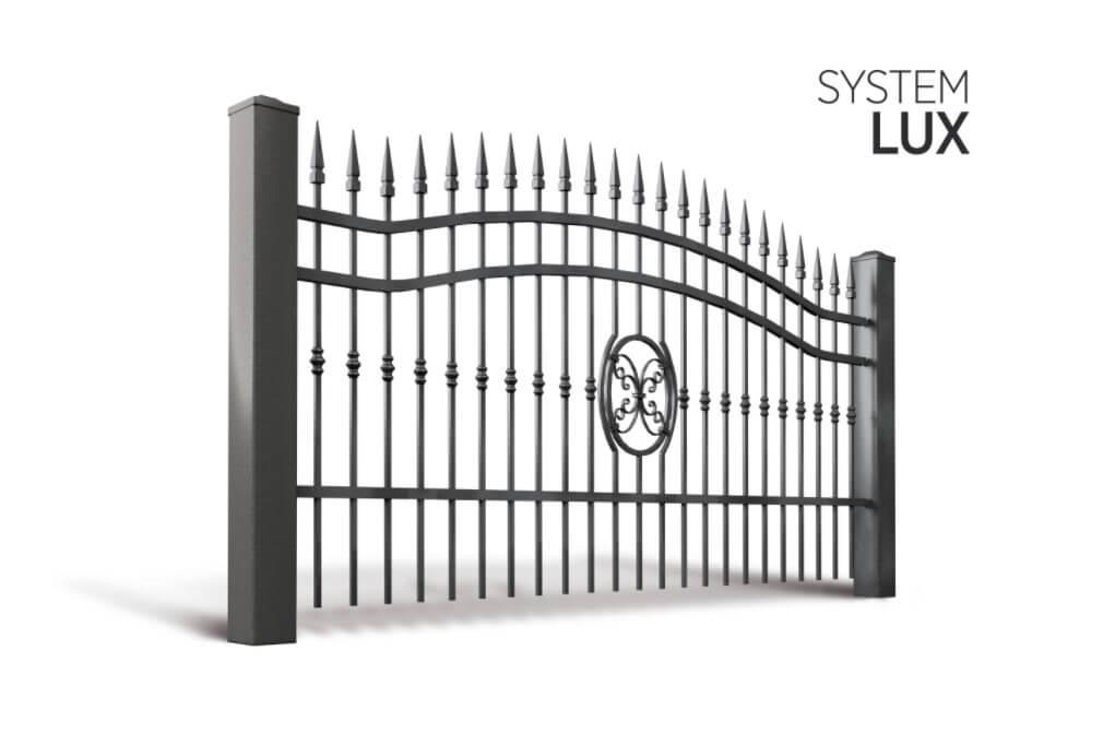 Система елементів LUX для огорожі