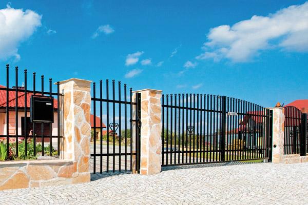 Розпашні ворота modern
