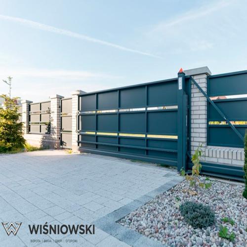 Відкатні ворота WISNIOWSKI